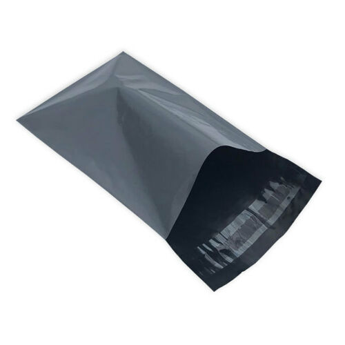 "10 Grey 6.5/"" x 9/"" Mailing Postage Postal Mail Bags"