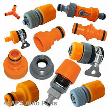 Selection Tap Adaptor Adapter Connector Hose Joiner Coupler Garden Nozzle Female