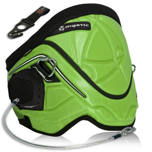 Mystic Shadow Green Waist harness kitesurfing kiteboarding windsurfing snowkite