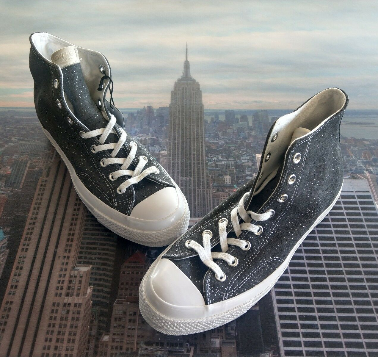 Converse Chuck Taylor All Star 70 Blank Canvas NY Sparkle Suede Size 9 156328c