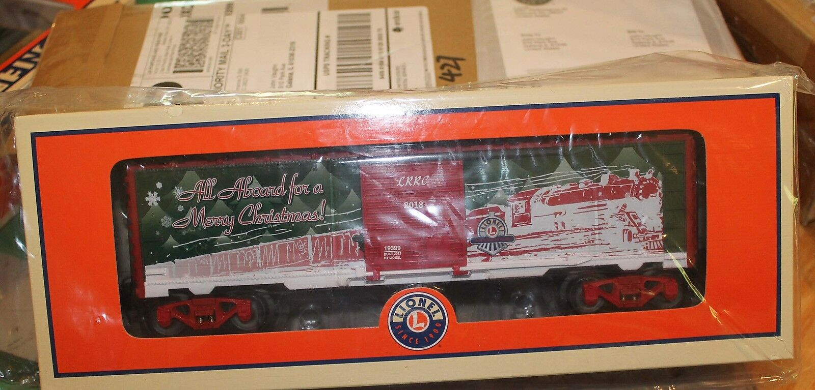 Lionel 2013 LRRC Christmas Holiday Boxcar 6-19399