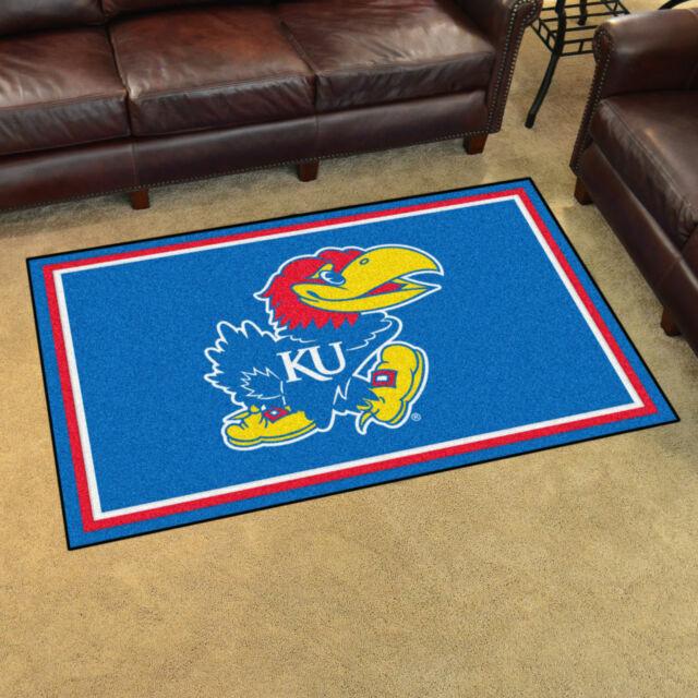 University of Kansas Logo Area Rug