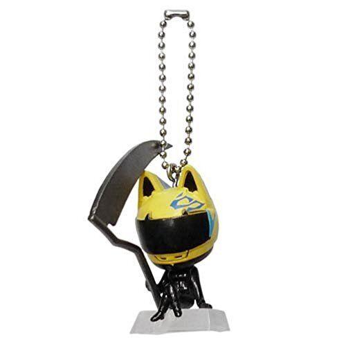 "Celty Sturluson x2 Deformed Mini Figure 1.5/"" Keychain Durarara!"