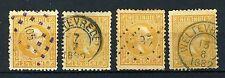 NL. INDIE 7 gestempeld 1870-1888 - Koning Willem III