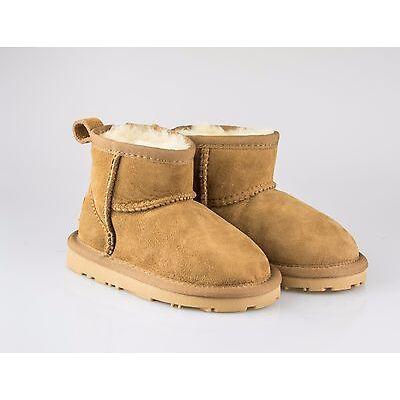 Kids UGG Boots - Child Mini Classic,Premium Australian Sheepskin