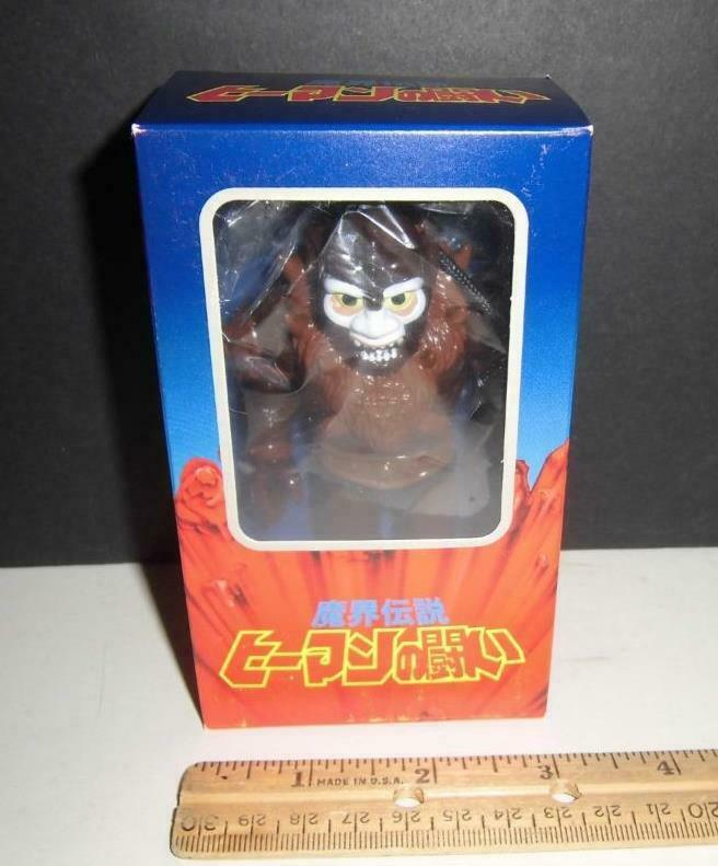 Masters del Universo Beastman como Bigfoot New York Comic Con súper 7-Raro Sofubi Exclusivo
