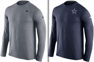 f704cbd620d Nike Dri Fit Touch Dallas Cowboys Elite Knit Logo shirt NFL football ...