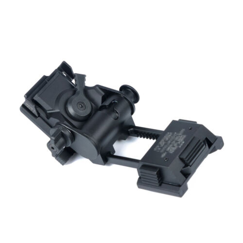 Metal Alloy L4 G24 NVG Fast Helmet Mount Breakaway Base Strong and Durable Black