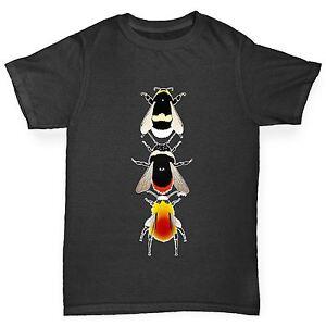 Twisted-Envy-Boy-039-s-especes-d-039-Abeilles-T-shirt-en-coton