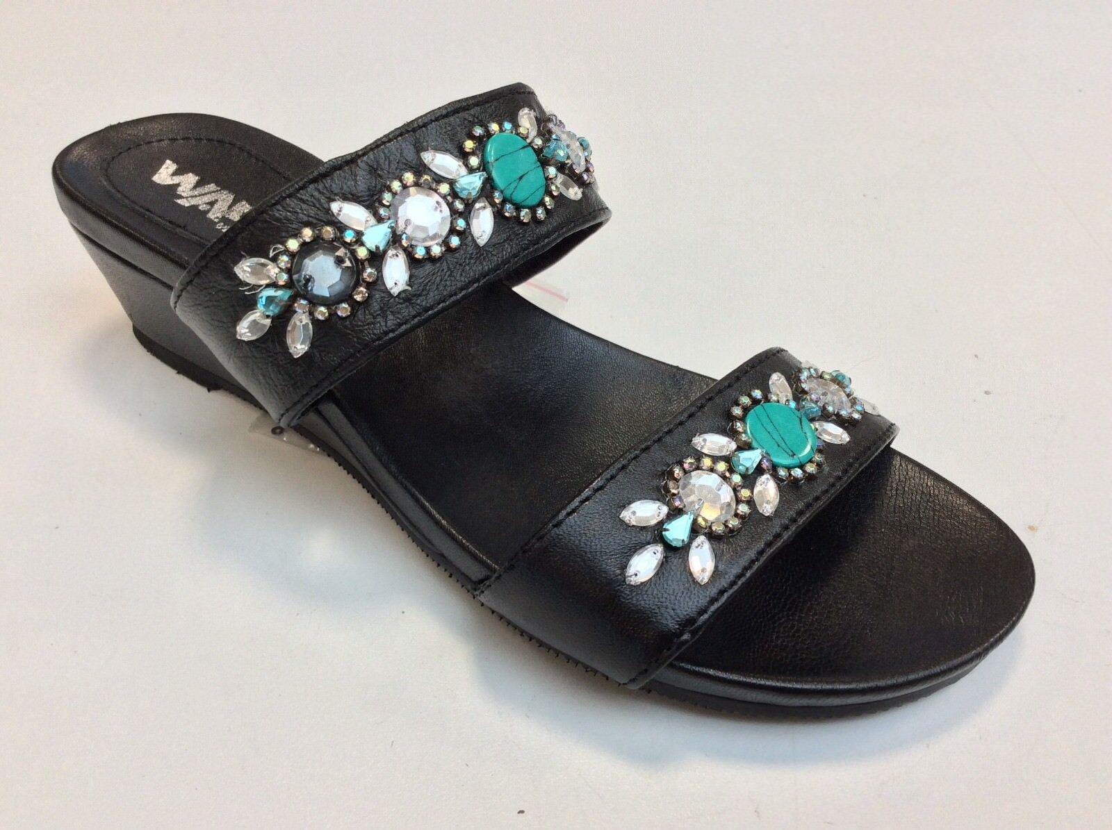 Schuhe Melluso Nero art 07382 col Nero Melluso Sandaleo vera pelle comodo Elegante 279726
