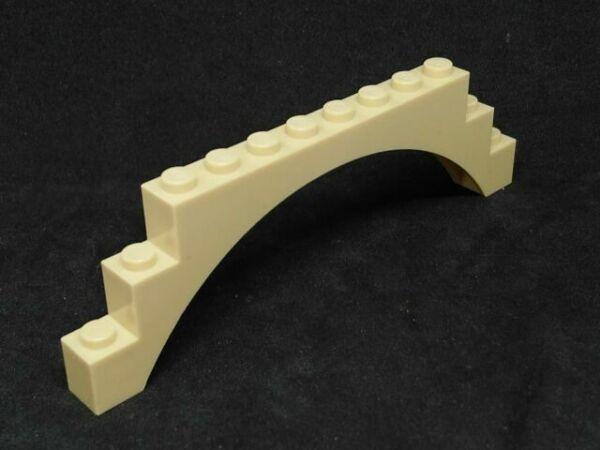 LEGO Parts~ 2~ Large Arch 1 x 12 x 3 1x12x3 ~BLACK 6108