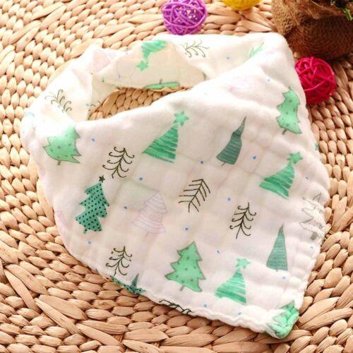 Soft 8 layers cotton gauze baby kids Burp Cloths bids Towel Feeding Scarf Fruit