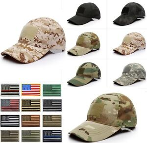 Image is loading Outdoor-Tactical-Baseball-Style-Military-Hunting-Hiking-US- 26bb37f0ed97
