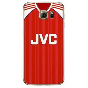 super popular 2f9a0 306c2 Details about Arsenal Retro Kit Jersey Shirt For Samsung S7 S8 S9 Note Hard  Phone Cover Case
