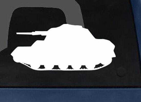 World War 2 II - Tank Version 1 - Classic Military Armor- Car Tablet Vinyl Decal