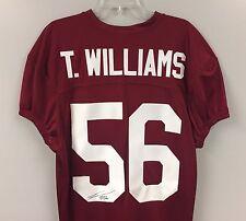 Tim Williams SIGNED Alabama Crimson Tide Football Jersey AUTO COA 2016