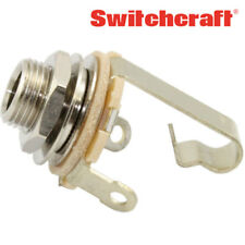 switchcraft stereo active guitar bass 1 4 input output jack wiring audio jack to speaker wire item 2 new (1) switchcraft 11 1 4\