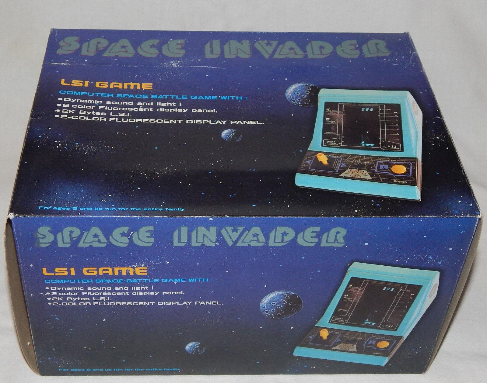 RARE VINTAGE GAKKEN SPACE INVADER INVADERS LSI TABLETOP GAME IN BOX BOXED NOS
