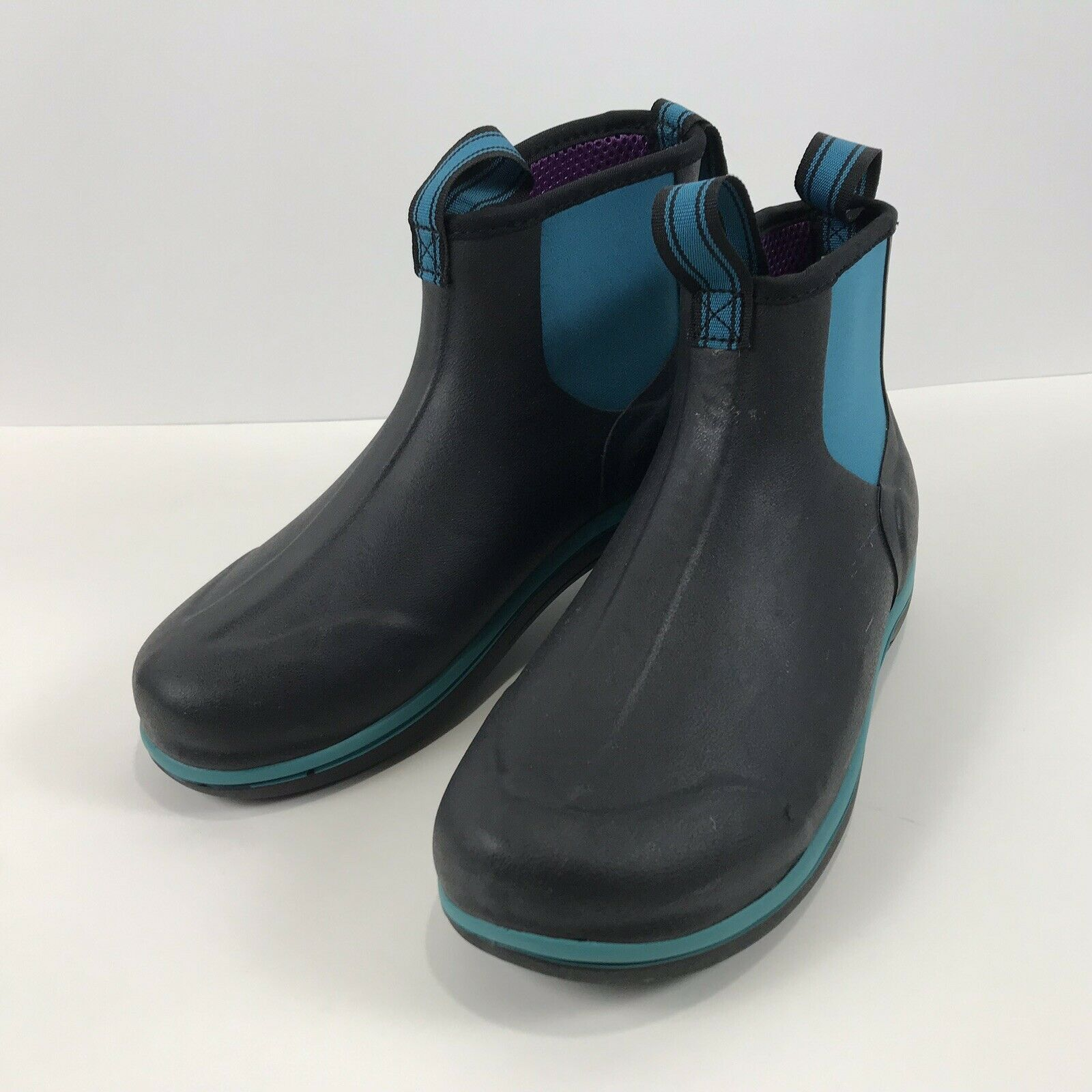 "Noble Outfitters Waterproof MUDS Stay Cool 6"" donna stivali Sz.7.5 Deep Turquoise"