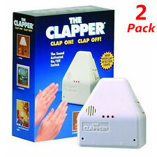 2Pack Clapper Sound Activated On/Off Switch by Hand Clap 110V Electronic Gadget