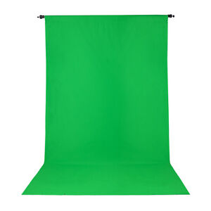 Promaster Wrinkle Resistant Backdrop 10'x20' Chroma-Key Green 3009 MAKE AN OFFER