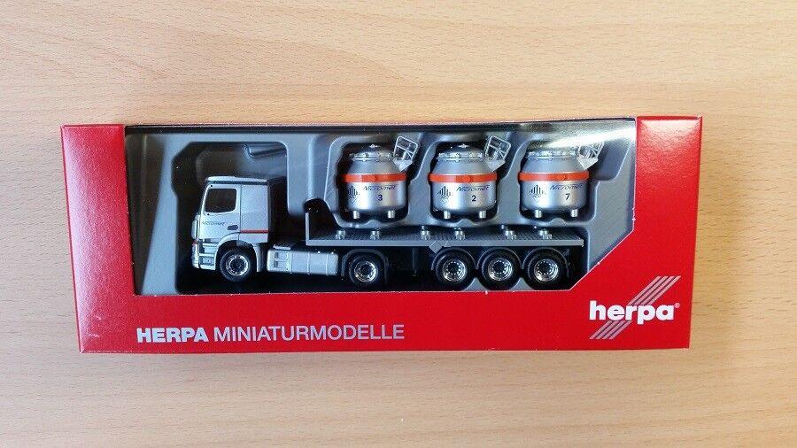 "- 307604-1:87 Scania CS V8 Schubboden-SZ /""Urs Bühler Transporte/"" Herpa CH"