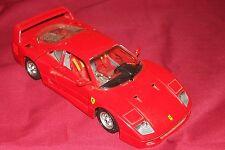 Bburago Ferrari F40 1987 1/24 Scale Italy Italian Toy Model Car Racecar Diecast