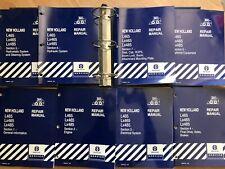 New Holland L465 Lx465 Lx485 Skid Steer Factory Repair Manual Set Oem