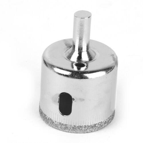 35mm beschichtete Bohrer Lochsäge für Glasfliesen Granit Marmor Silber
