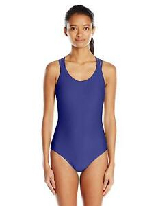Body-Glove-Women-039-s-Smoothies-Multi-Strap-Back-One-Piece-Swimsuit-LARGE