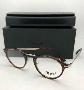 New-PERSOL-Eyeglasses-Calligrapher-Edition-3167-V-24-49-22-145-Tortoise-amp-Gold