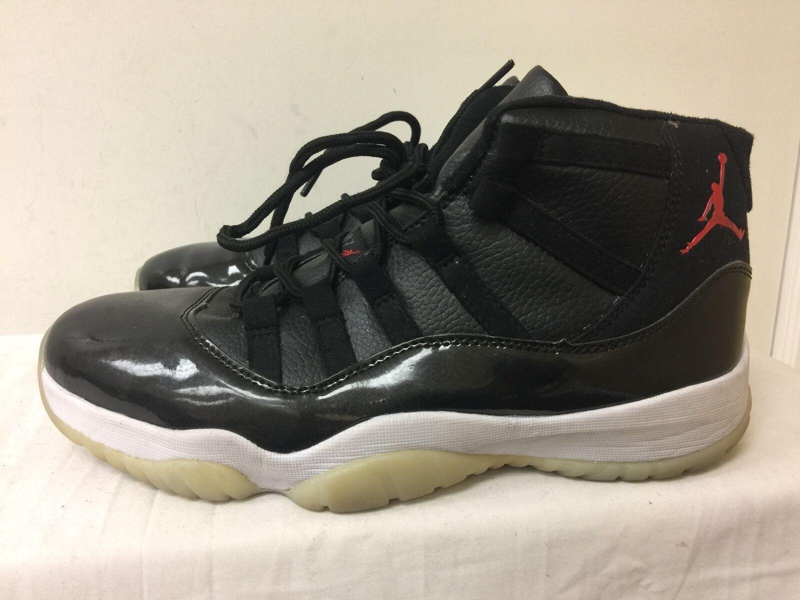Nike air jordan 2010 uomini taglia 10 nero / bianco scarpe / rosso, scarpe bianco da basket ba6ab3