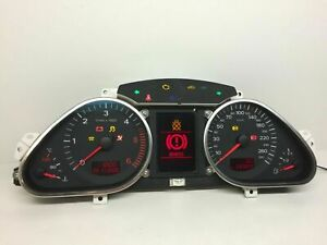 Audi-A6-C6-Diesel-Km-H-Compteur-de-Vitesse-Instrument-Cluster-Speedo-4F0920901C