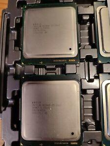 2 Stück Intel CPU Sockel 2011 6C Xeon E5-2667 2,9GHz 15M 8 GT/s - SR0KP