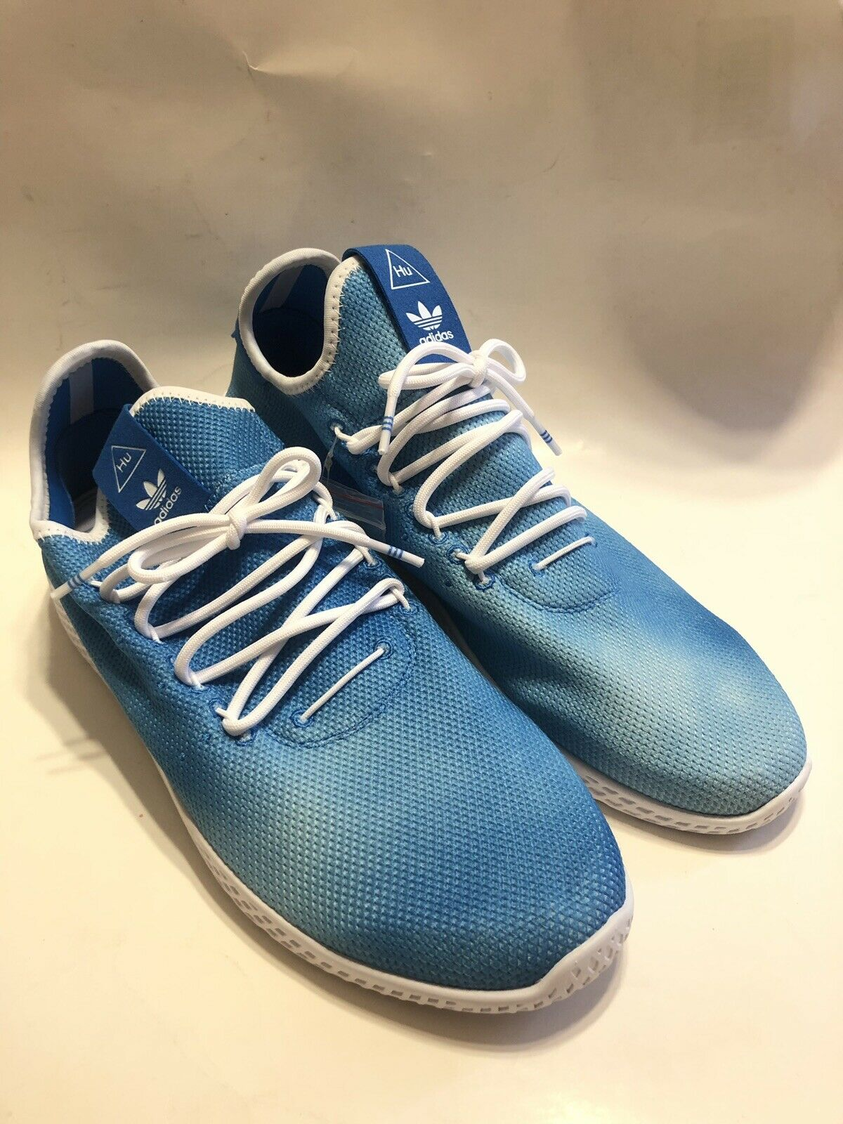 New Men's Adidas Pharrell Williams Holi Tennis Hu shoes Sneaker DA9618 Size 11