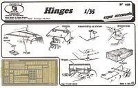 Royal Model 1:35 Hinges - Photo-etched Detail Set 036 on sale