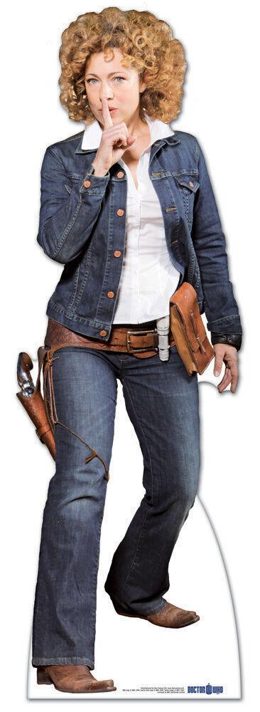 Professor River Song Cowgirl Cowgirl Cowgirl Doktor Dr Who LGröße Ausschnitt 0474f0