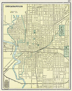 Map Of Indianapolis on