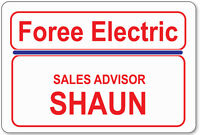 Name Badge Halloween Costume Prop Shaun Of The Dead Movie Magnetic Fastener