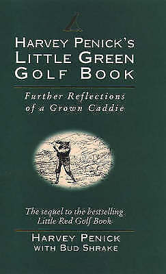 Harvey Penick's Little Green Golf Book, Penick, Harvey, Good Book