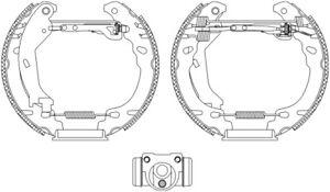 Mintex-Rear-Brake-Shoe-Set-MSP304-BRAND-NEW-GENUINE-5-YEAR-WARRANTY
