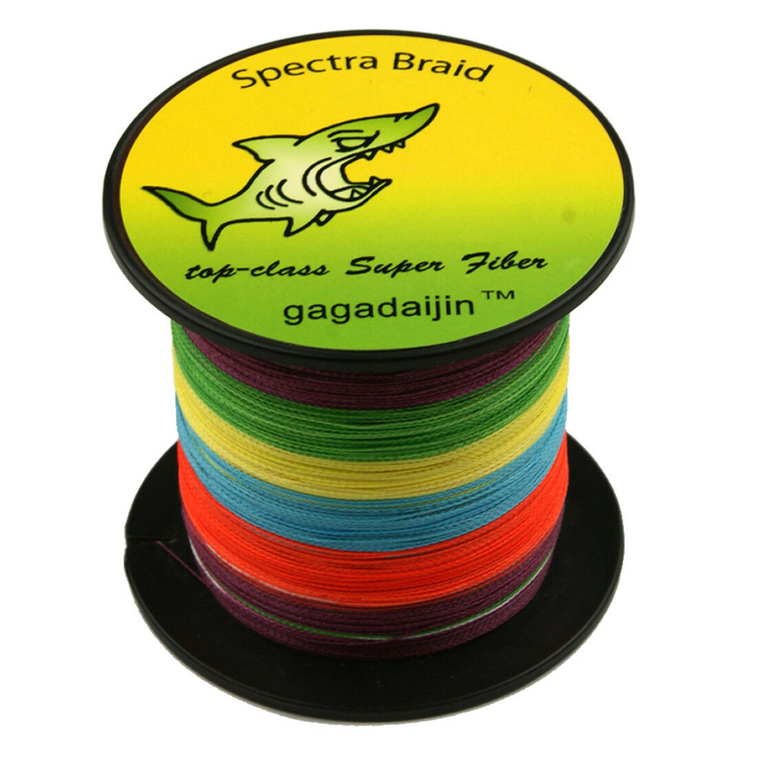 Multi-color Spectra 100% PE Dyneema Braided 100-1000M 6-300LB 4Plys Fishing Line