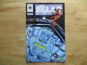 Details about 1993 VINTAGE VALIANT SOLAR MAN OF THE ATOM # 20 SIGNED BY JOE  QUESADA , WITH POA