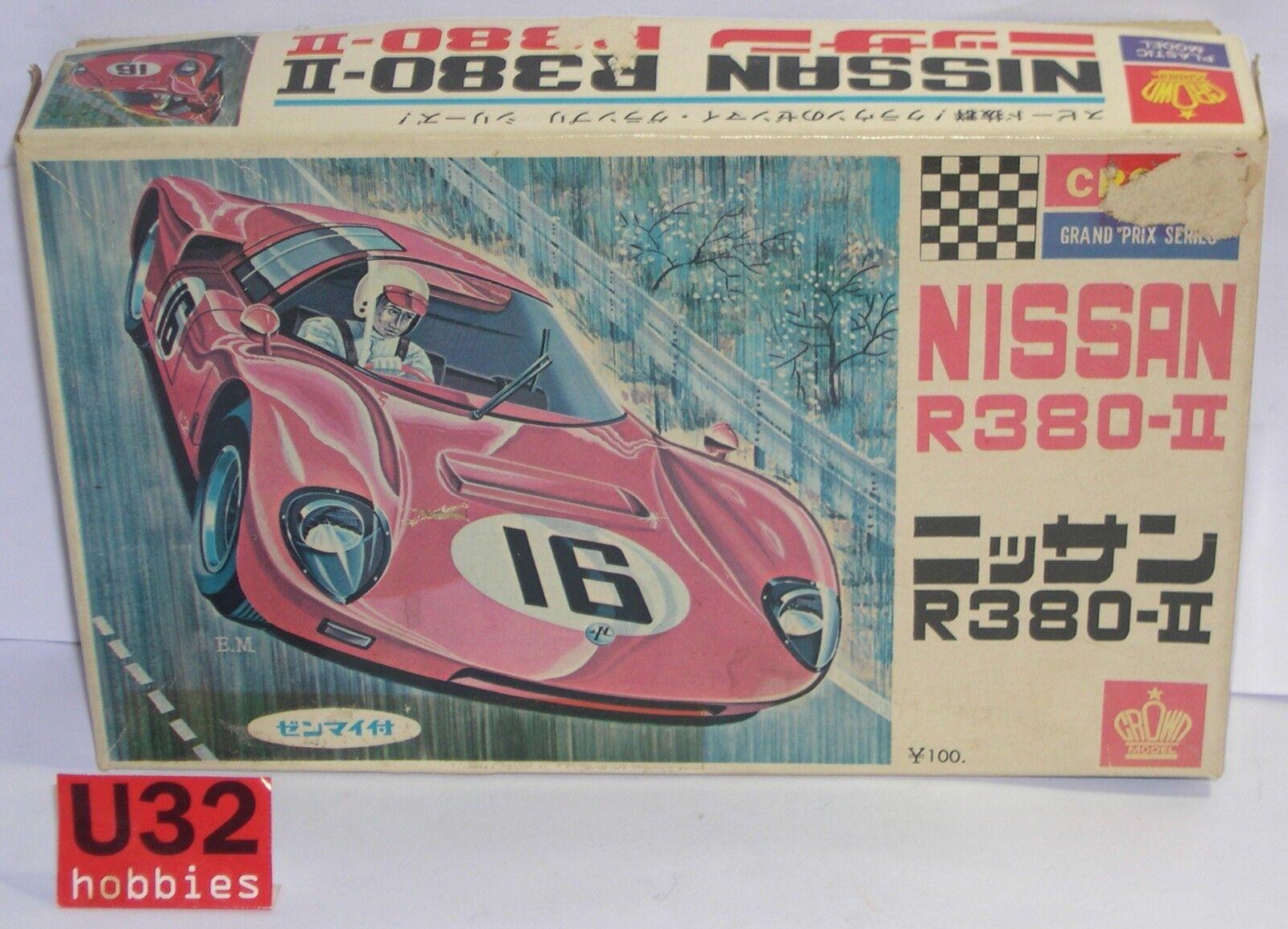 FN CROWN 137 100 KIT 1 32 NISSAN R380-II