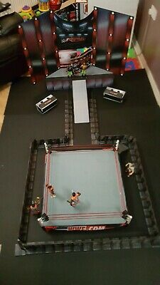 Wwe Wwf Wrestlemania 10 etapa Personalizados Para Figuras Lucha Libre