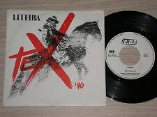 """LITFIBA - TEX / IL RE DEL SILENZIO - RARISSIMO 45 GIRI 7"""" ITALY 1990"""