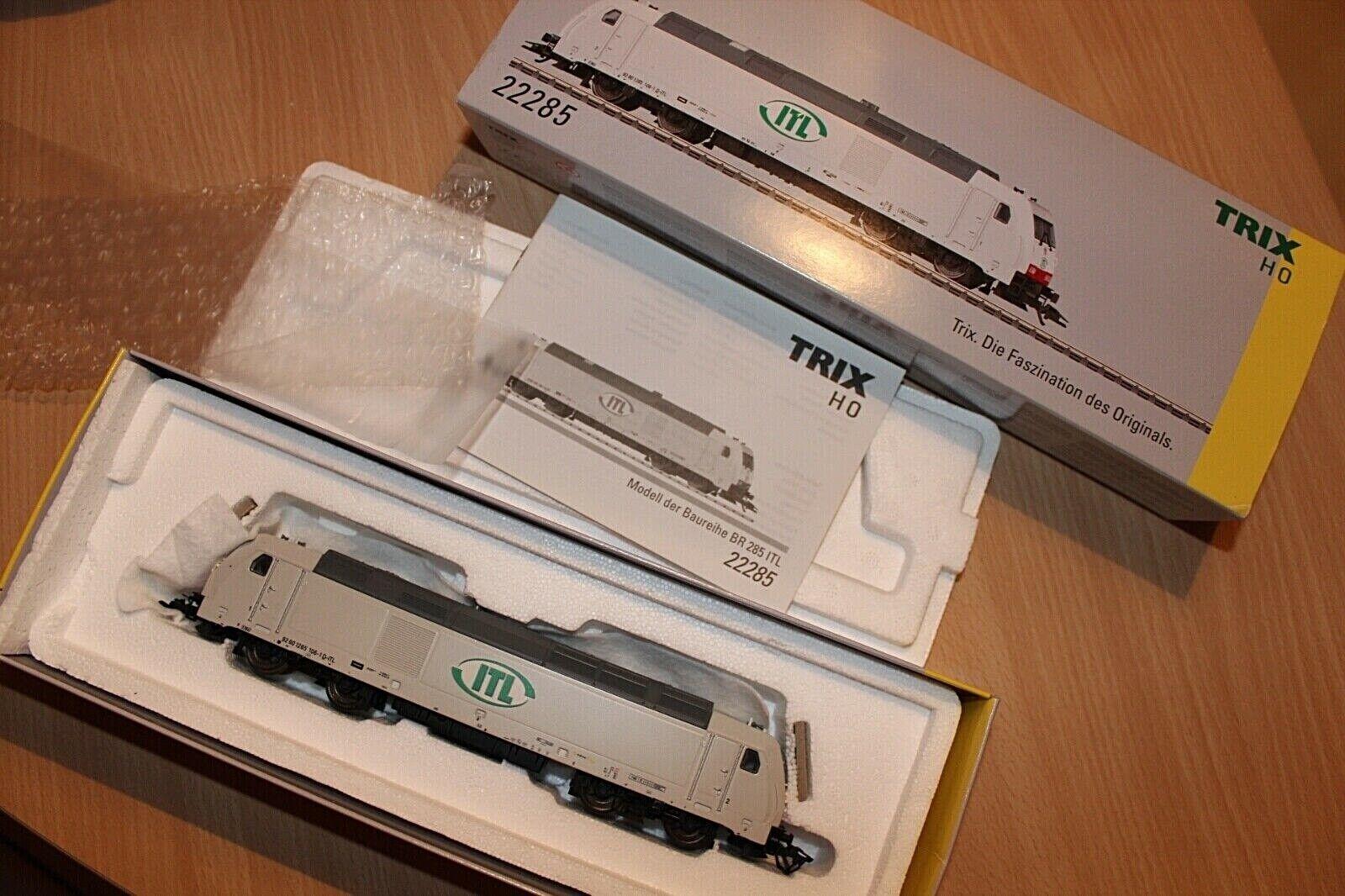 Trix 22285  Diesel Lok  BR285 CB Rail ITL Mit Sound