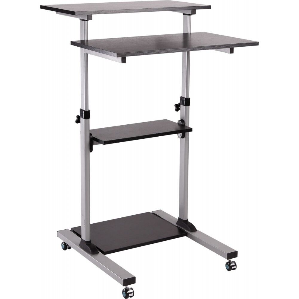 Sit And Stand Computer Desk Ergonomic Sit Stand Computer