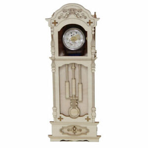 Kigumi Wooden Art Antique Clock Watch Case 3d Puzzle Diy Kit