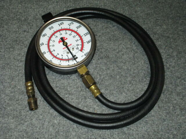 TRANSMISSION TOOLS OIL PRESSURE 2 GAUGE 2 HOSE  NEW